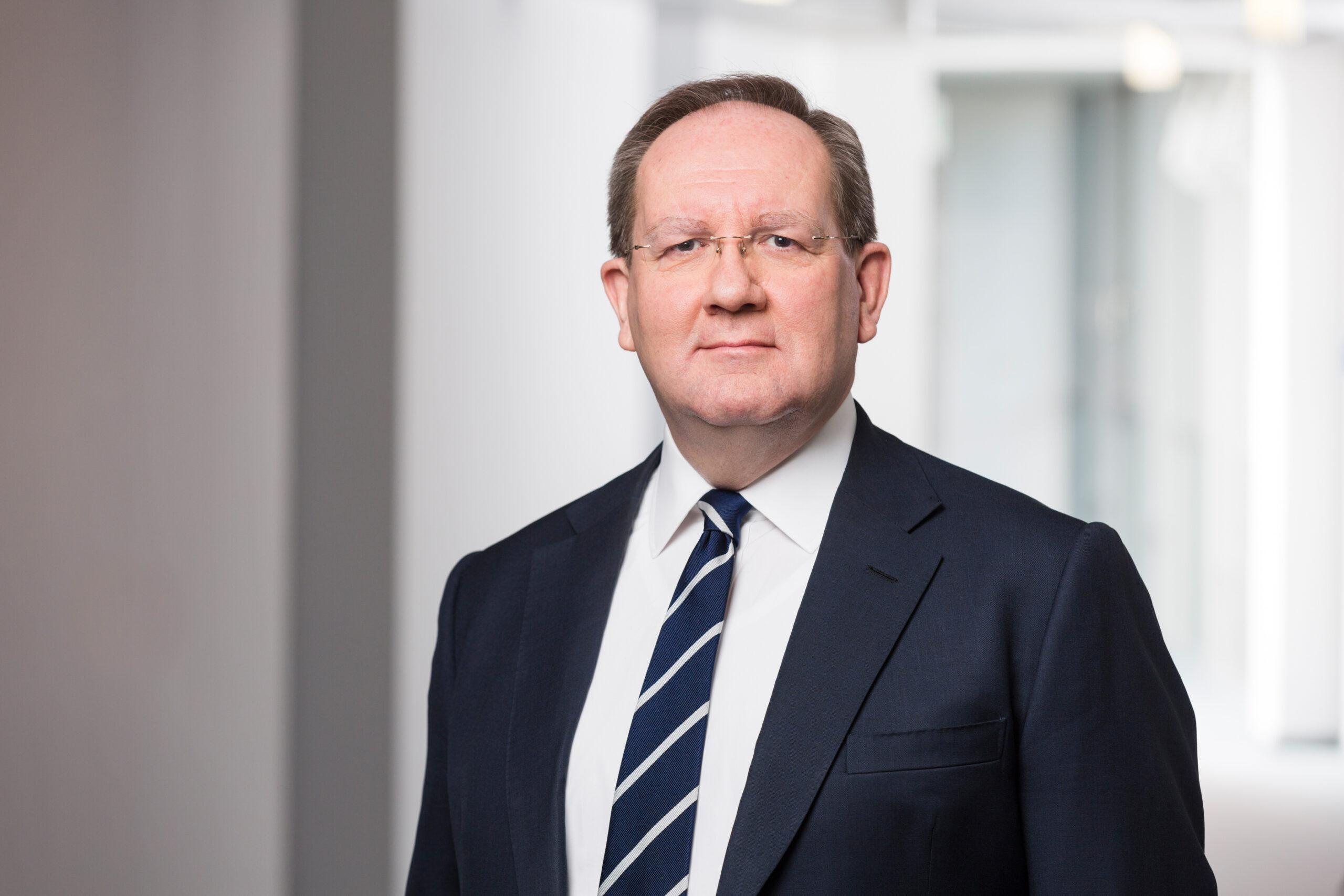 Bafin-Präsident Felix Hufeld, Photo: © Bernd Roselieb