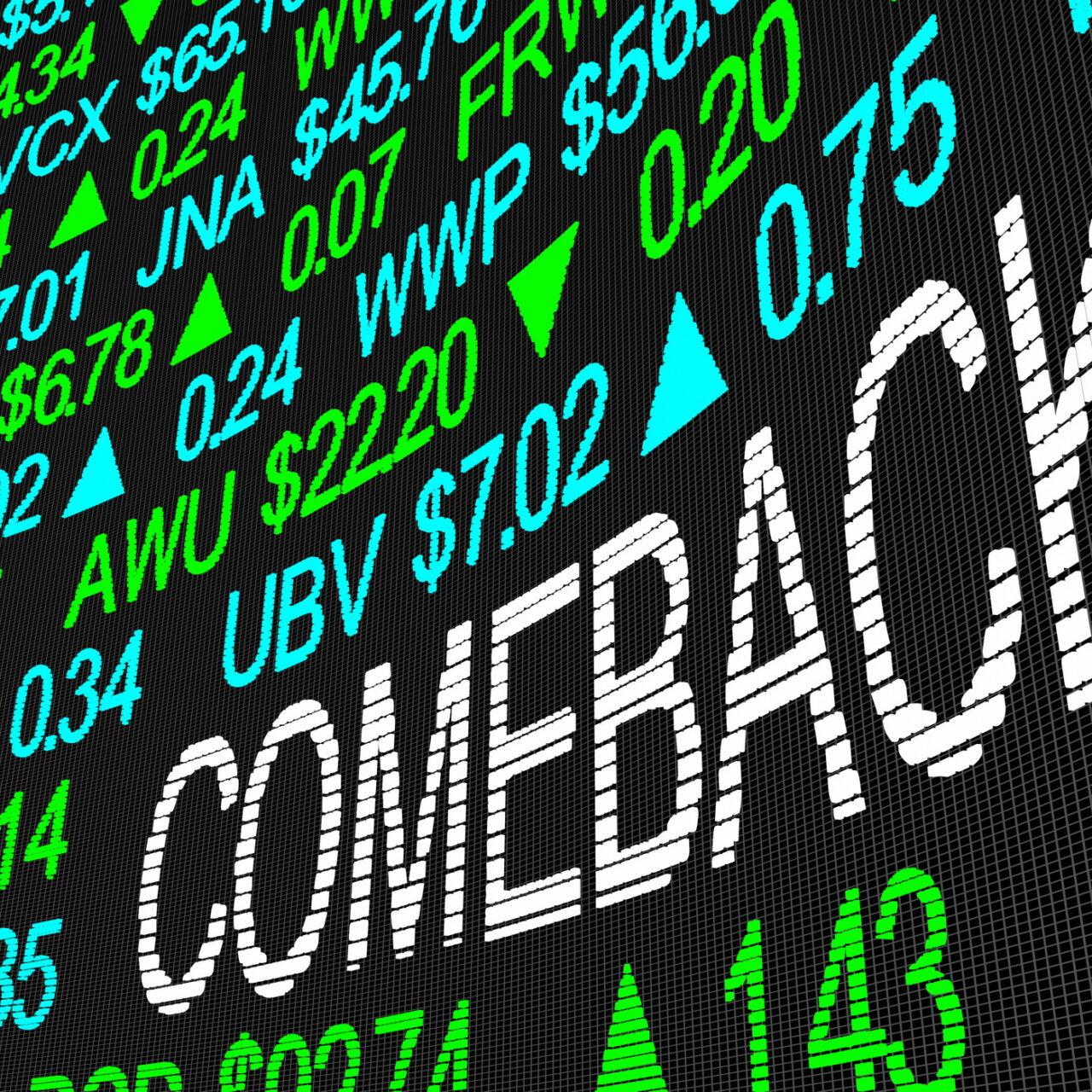Value-Aktien erholen sich nachhaltig nach Inflations-Comeback